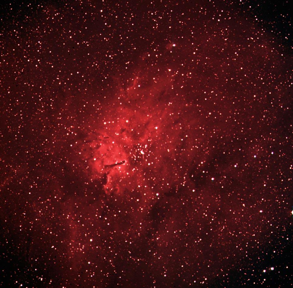 NGC6820 Emission Nebula